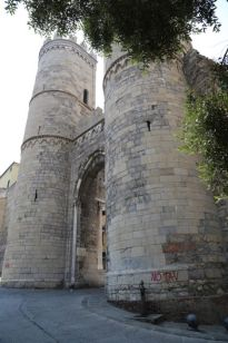 Part of the old wall