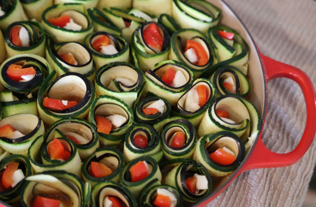 Spirals before baking