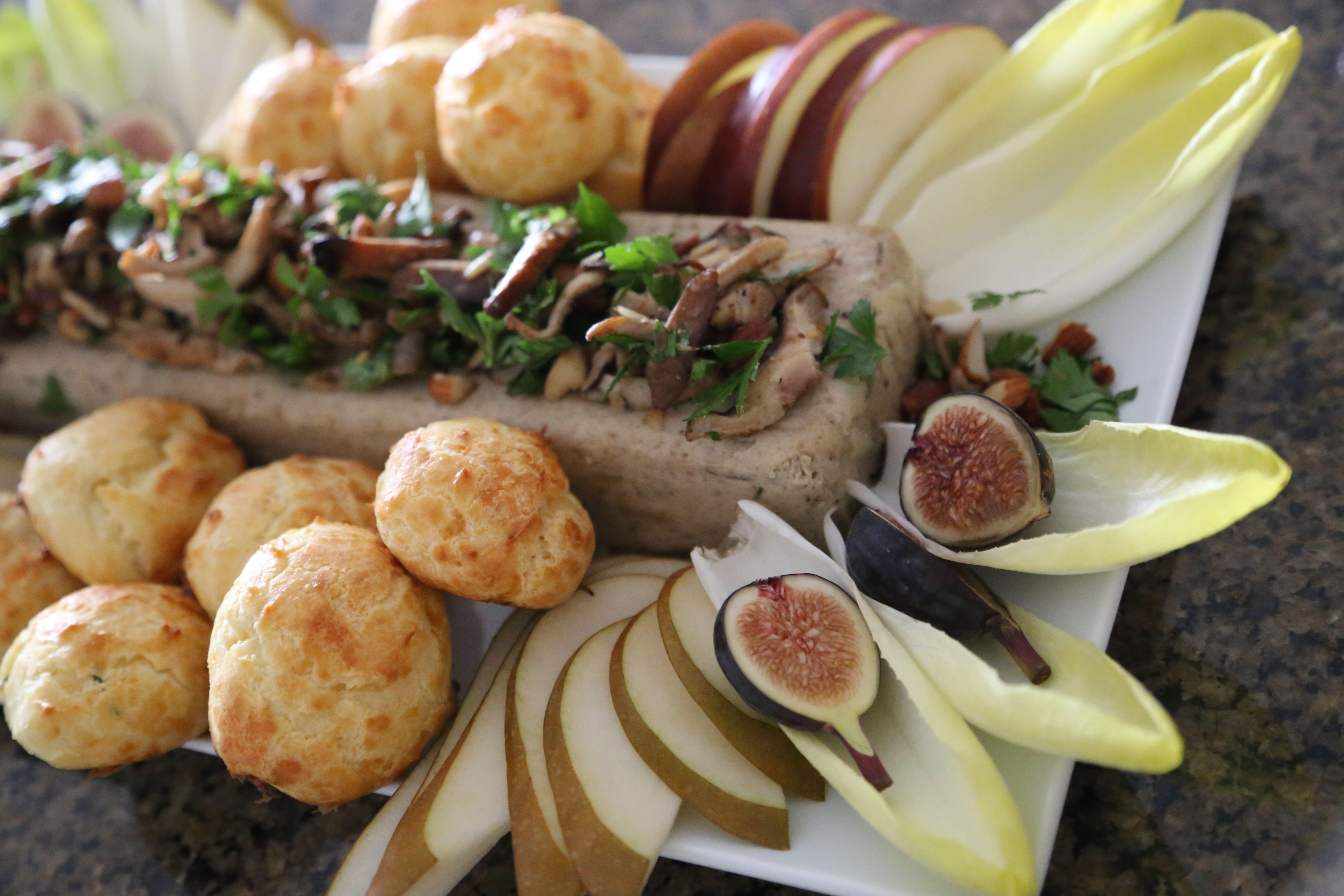 ... chanterelle mushroom exotic mushroom and walnut exotic mushroom pate