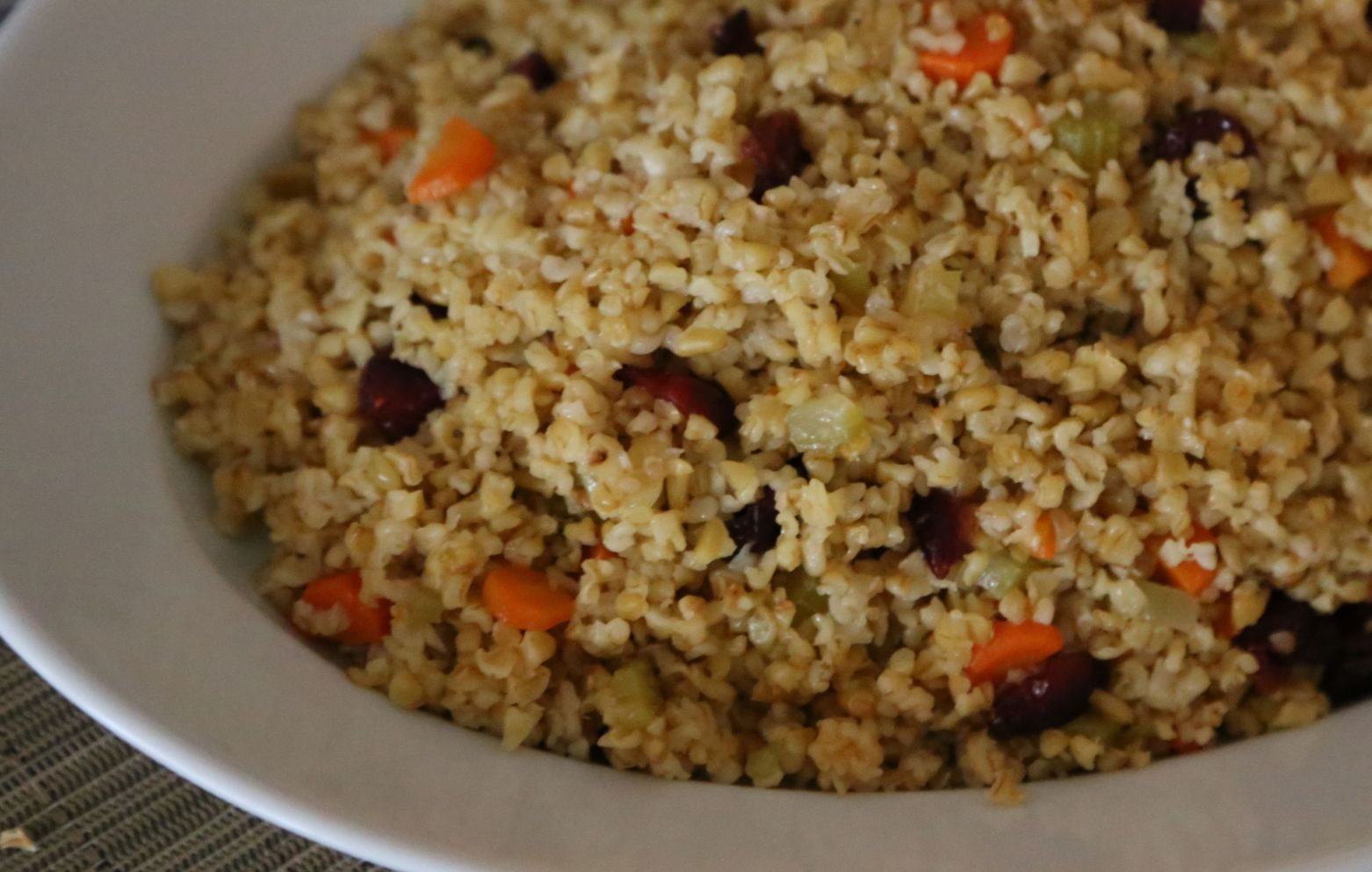 Cracked Freekeh Pilaf