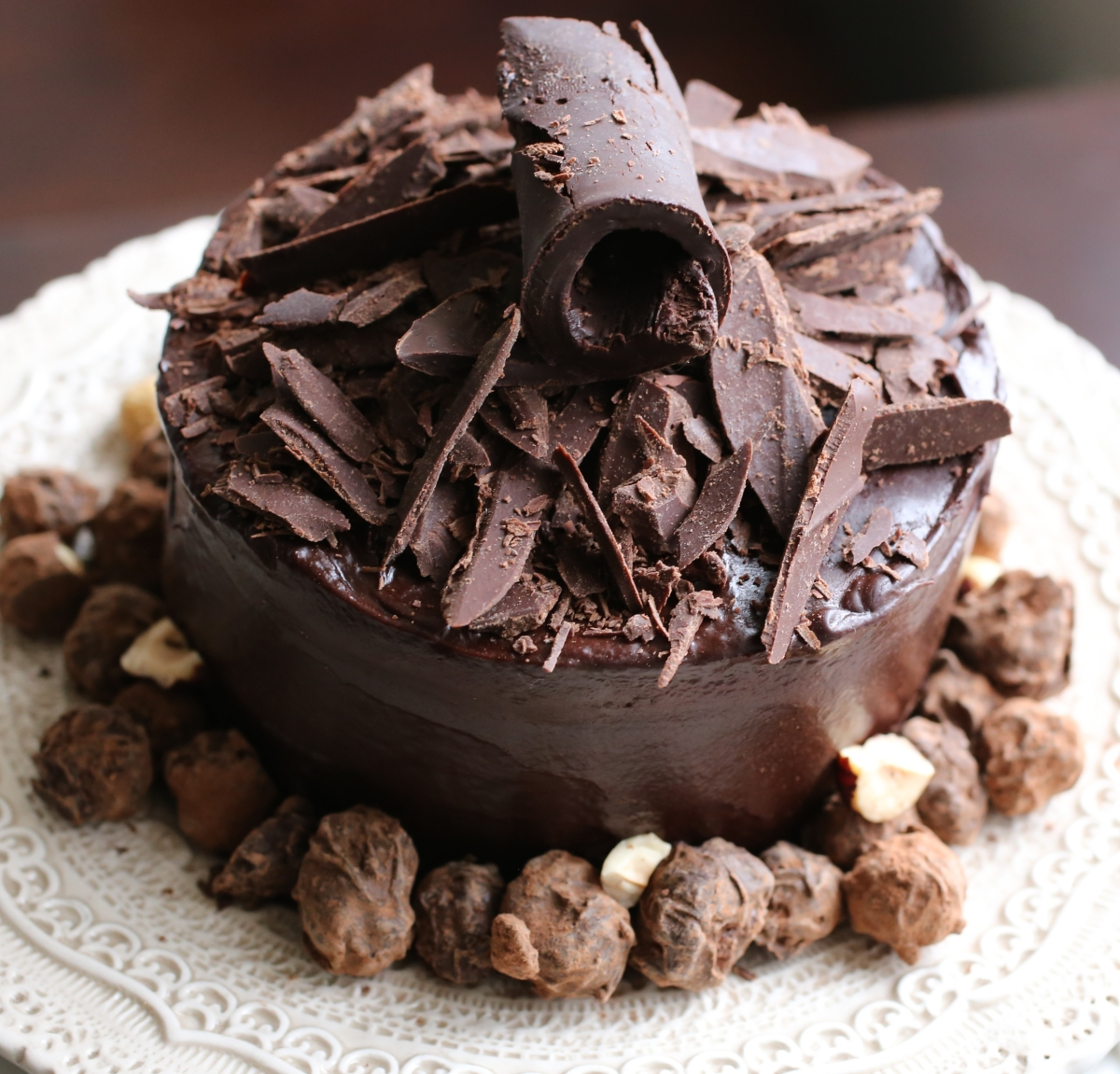 Chocolate-Hazelnut Cake