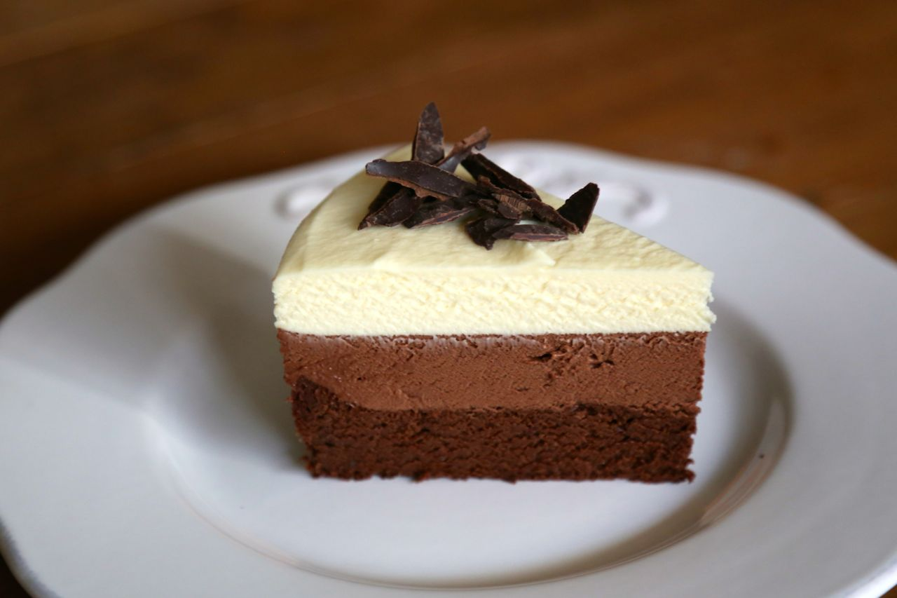 Triple Chocolate Mousse Cake Cook