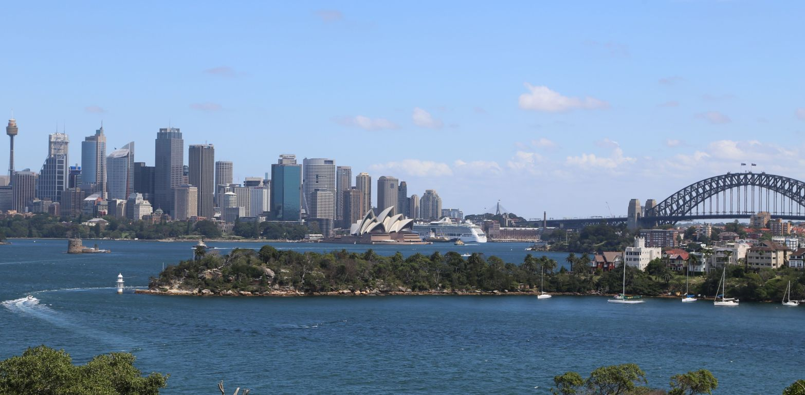 View from Taronga