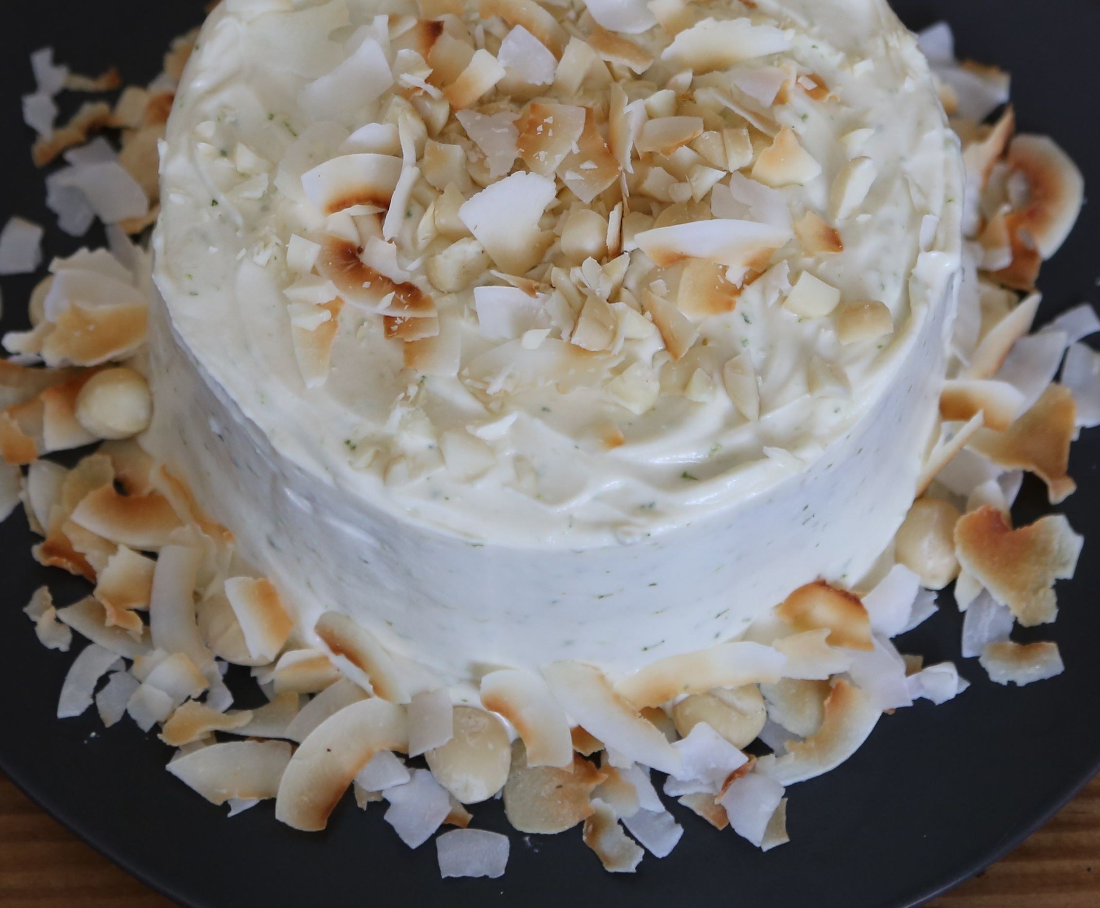 Tropical Carrot Cake with Lime Mascarpone and Cream Cheese ...