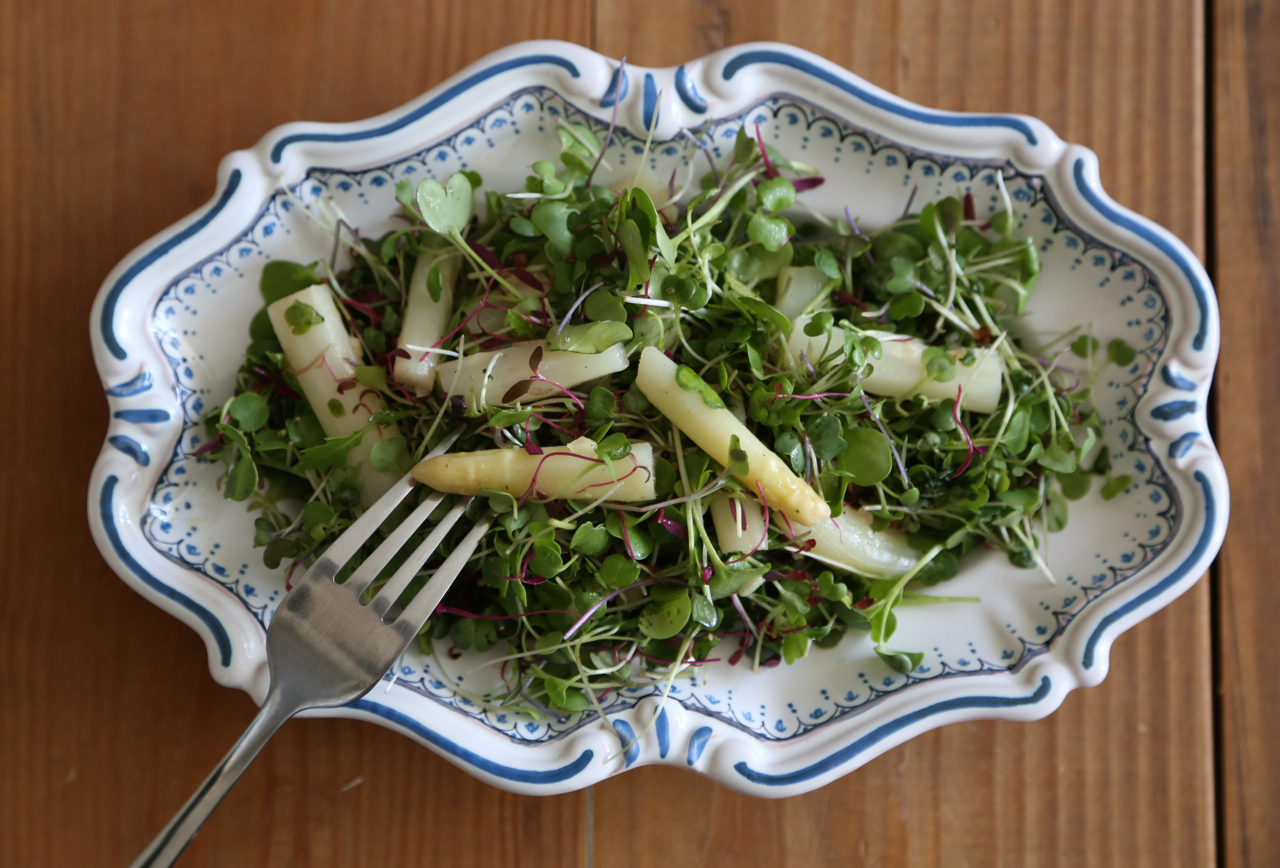 PWC Asparagus salad