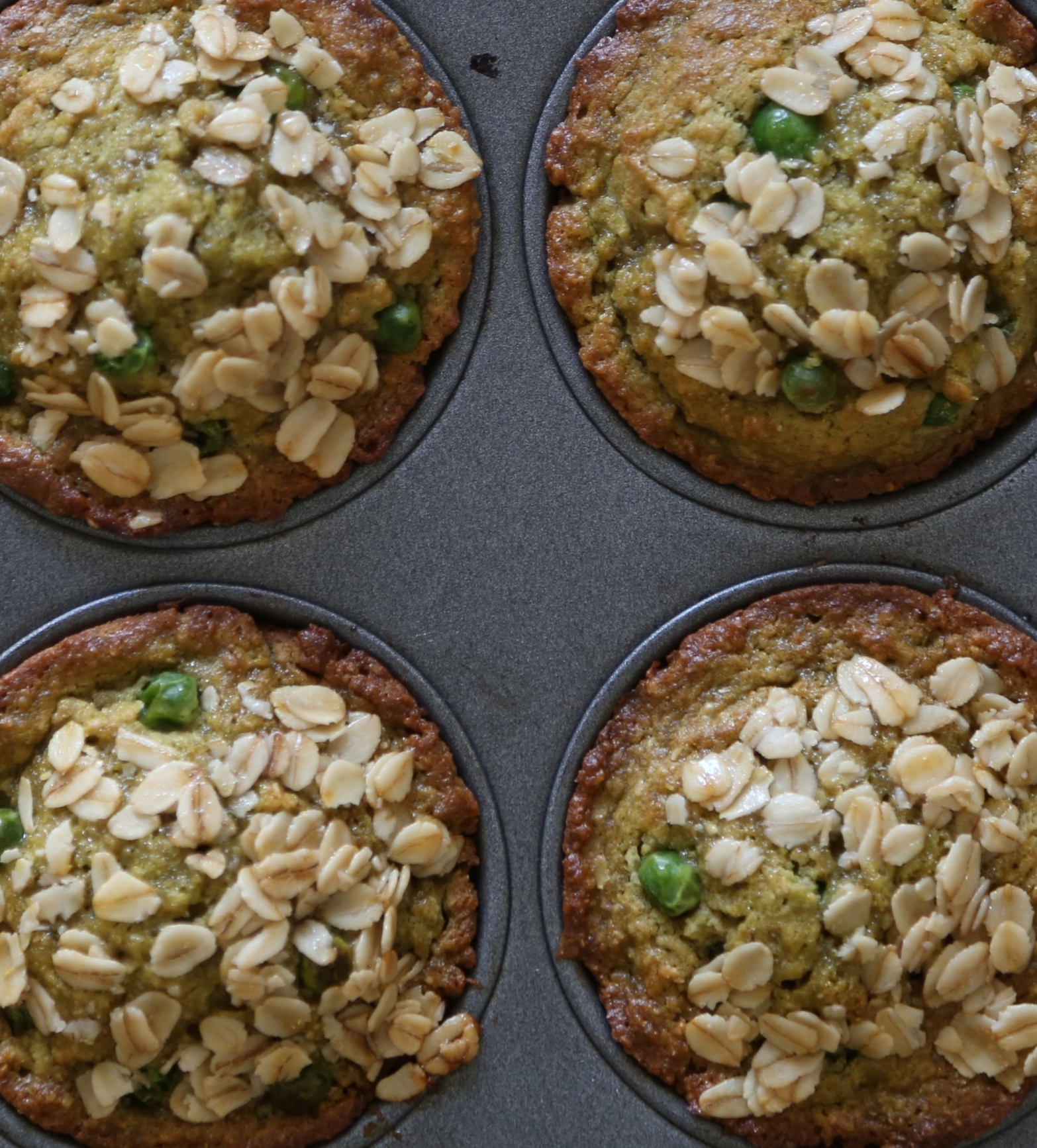 Sweet Pea Breakfast Muffins
