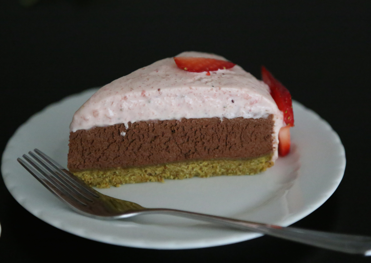 Strawberry Chocolate Charlotte 2