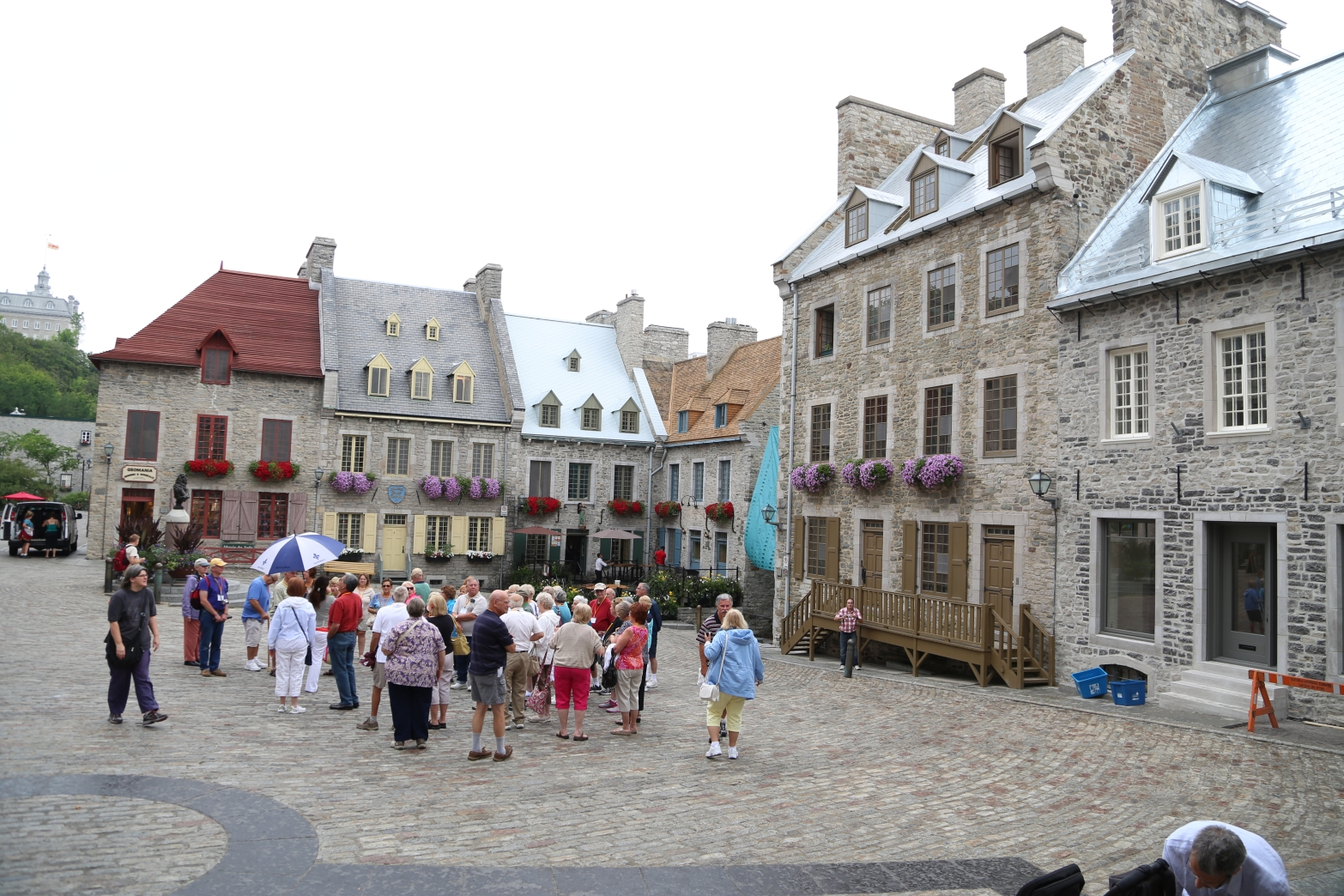 Place Royale, one of the oldest public squares in the province.