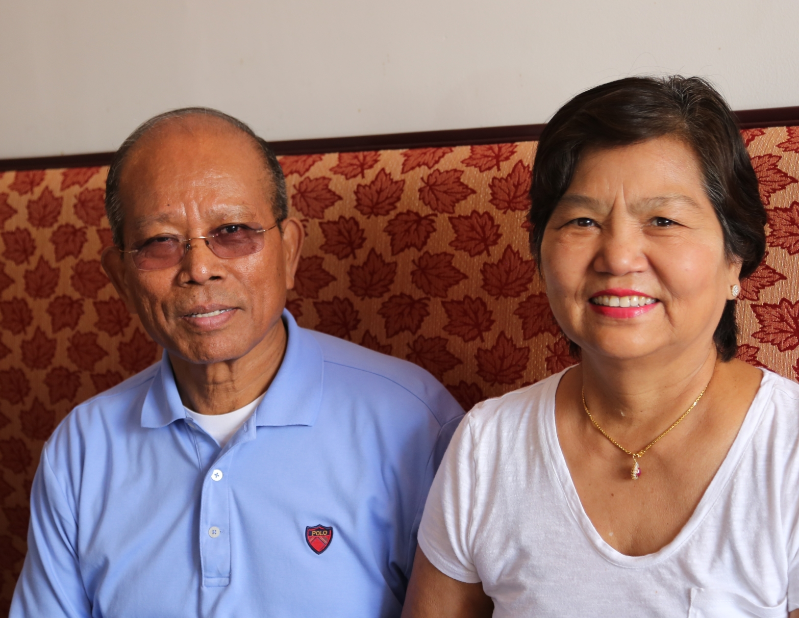 Saw Myint and wife, Hla Hme