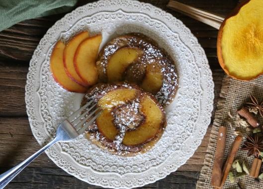 Petit World Citizen: Peach and Pumpkin Pancakes