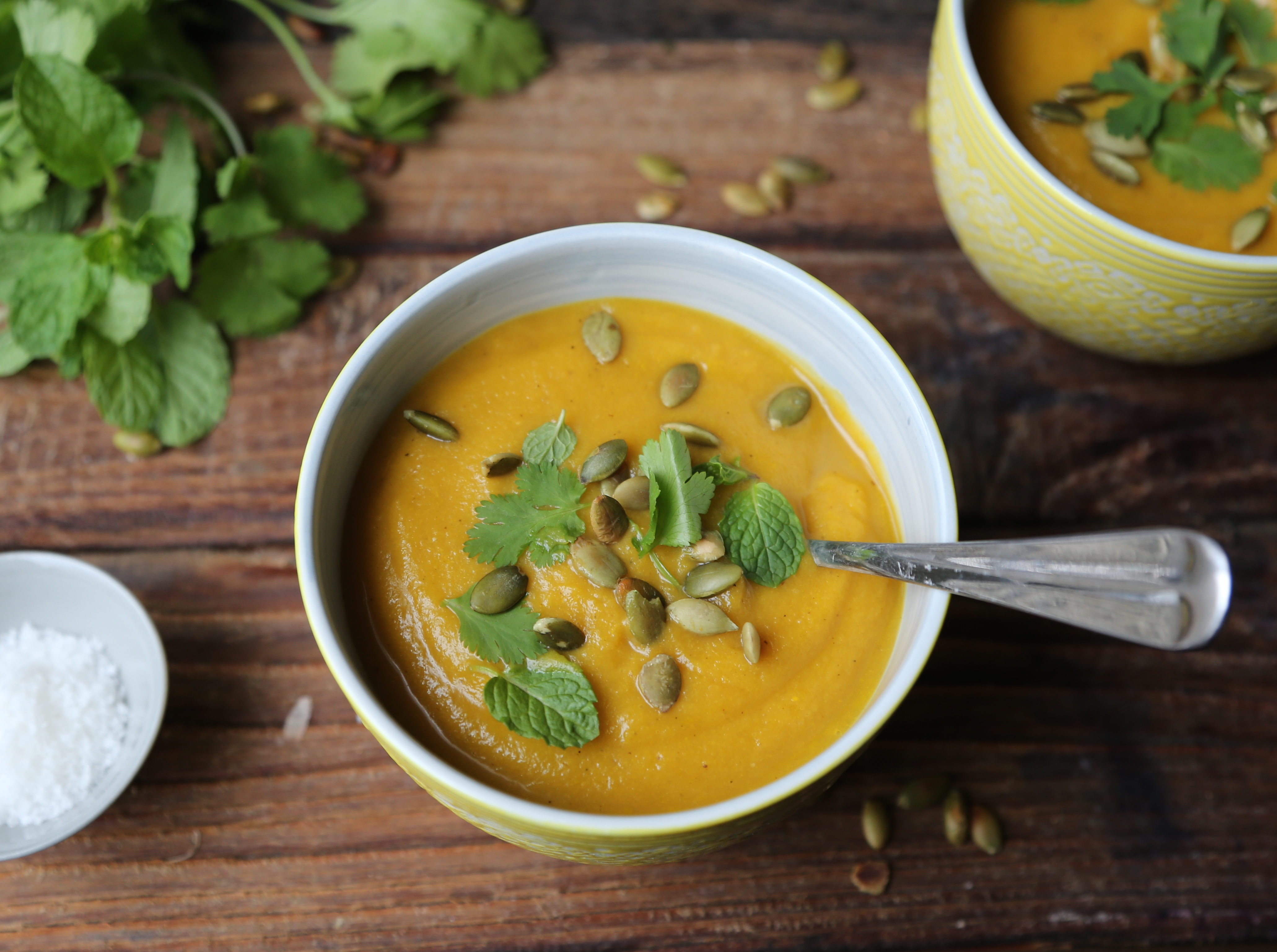 Curried Carrot and Apple Soup with BarleyPETIT WORLD CITIZEN