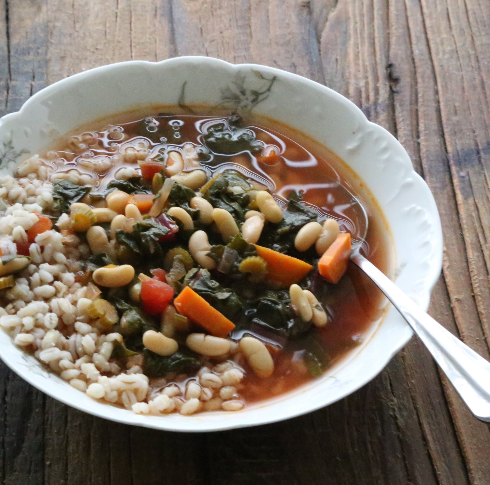 Chad and Barley Soup