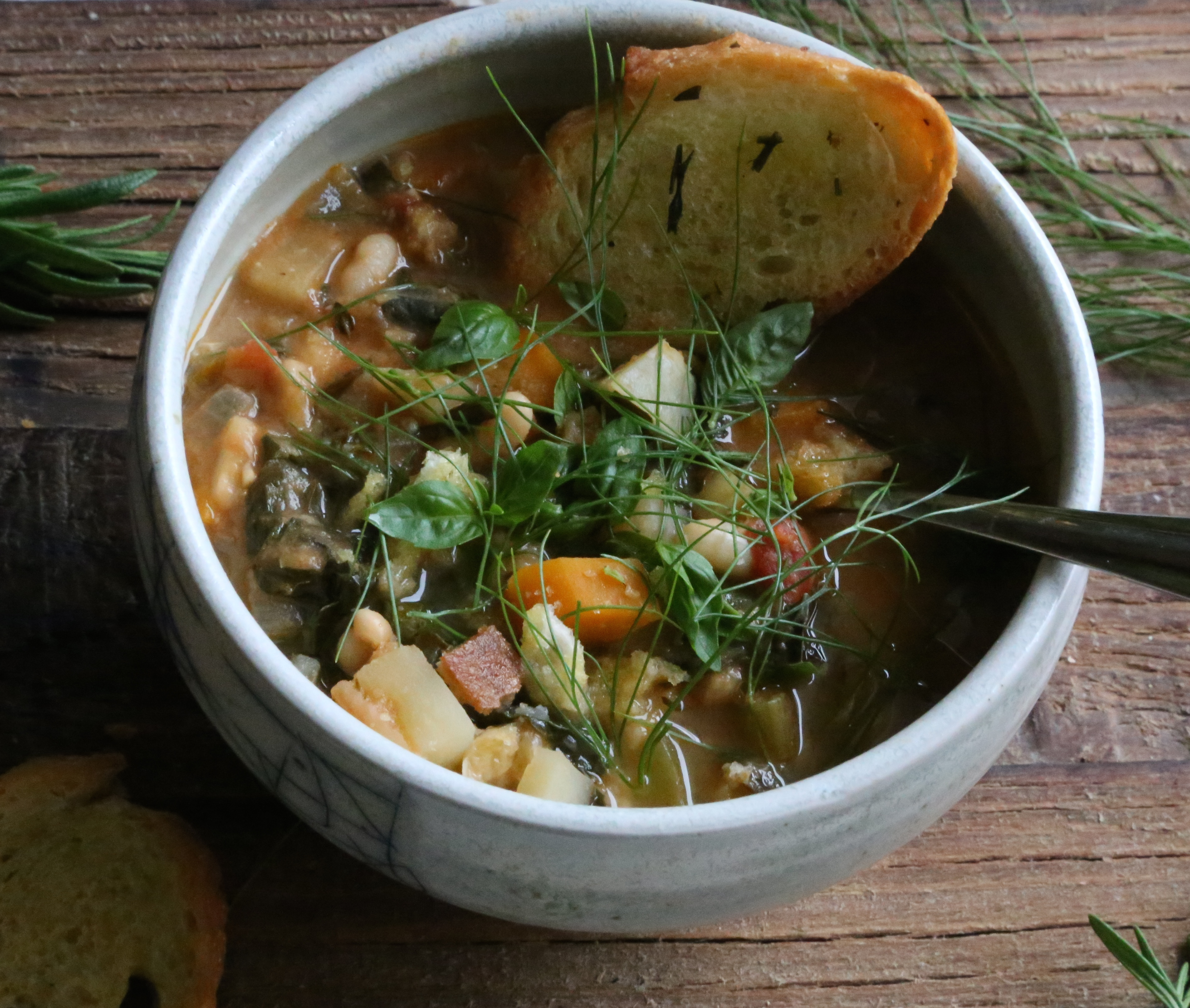 Ribollita: A Classic Tuscan Soup | PETIT WORLD CITIZEN