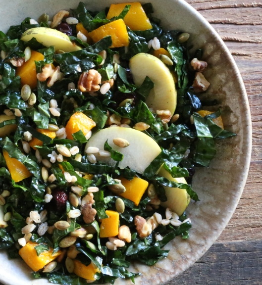 Kale and Kabocha Salad
