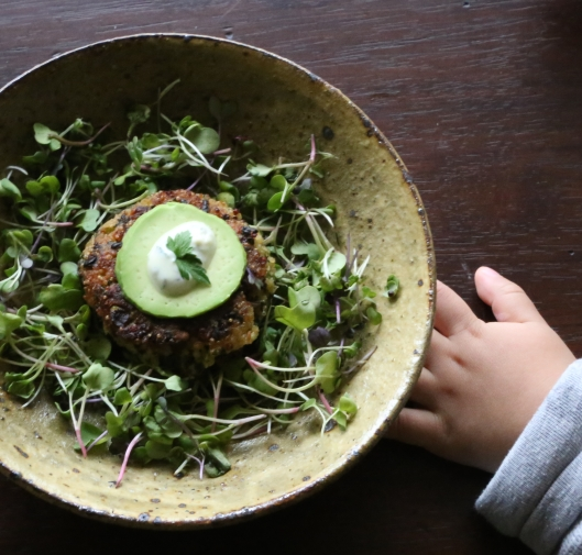Kale and Quinoa Patty-Cakes