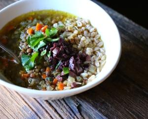 Mediterranean Lentil Soup