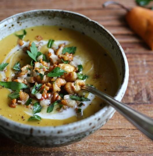 Rustic Parsnip Soup