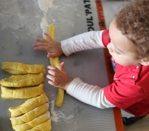 Sous-chef in training