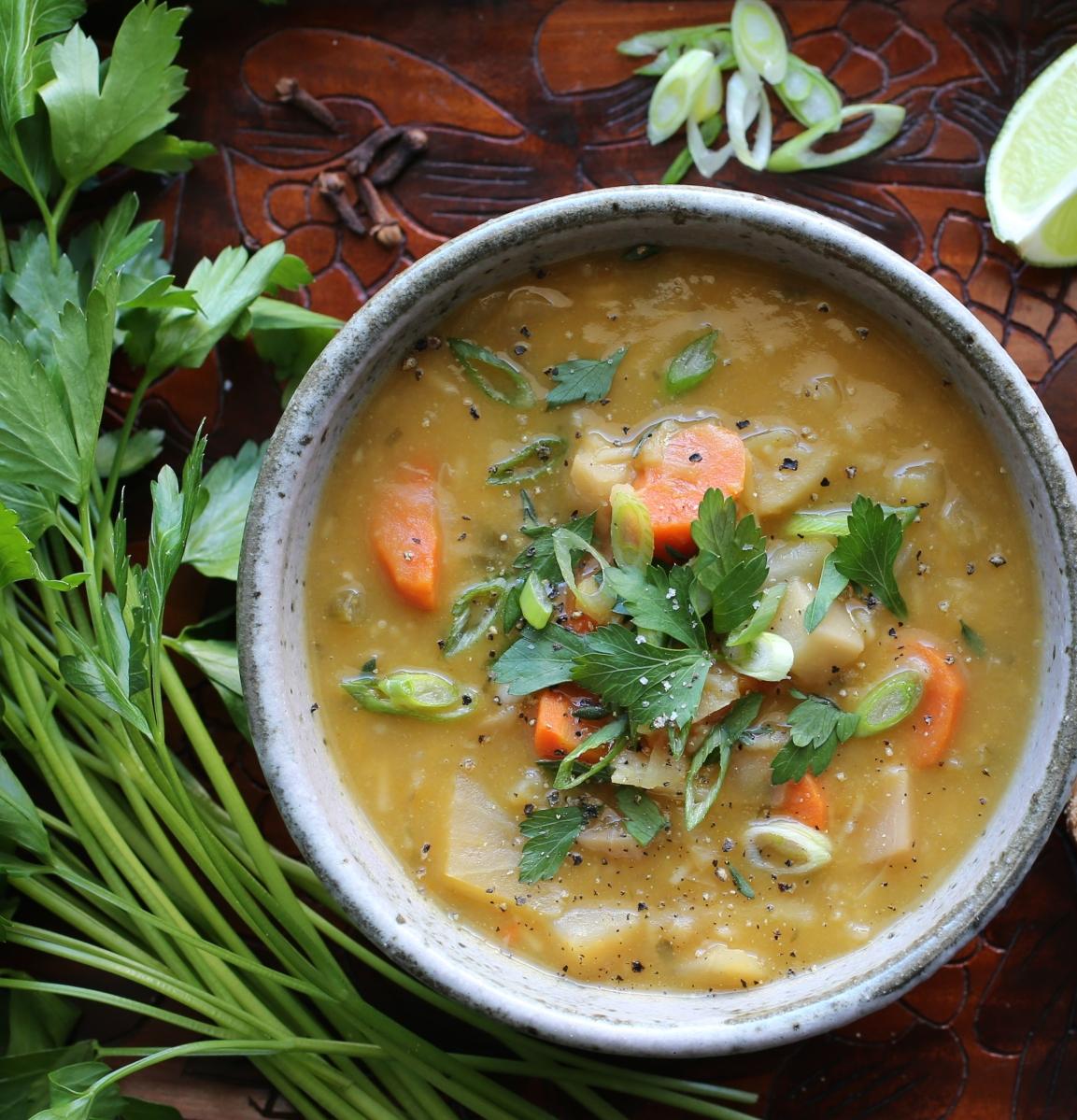 Liberation Soup (Soup Joumou)