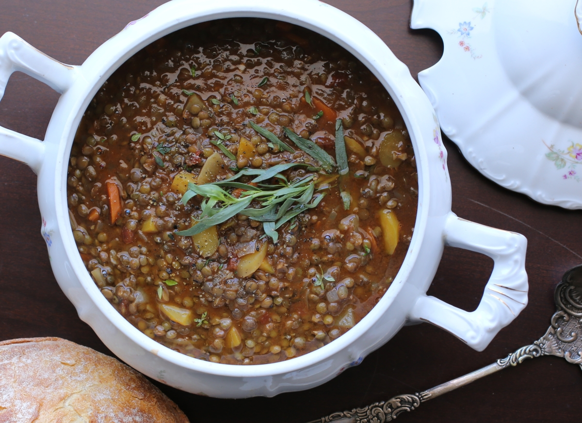 French Lentil Soup and Habits