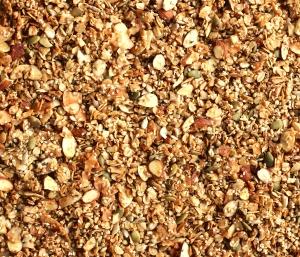 Ginger Almond Hemp Granola