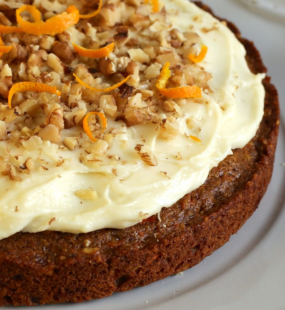 Carrot Cake with Kashmiri Garam Masala