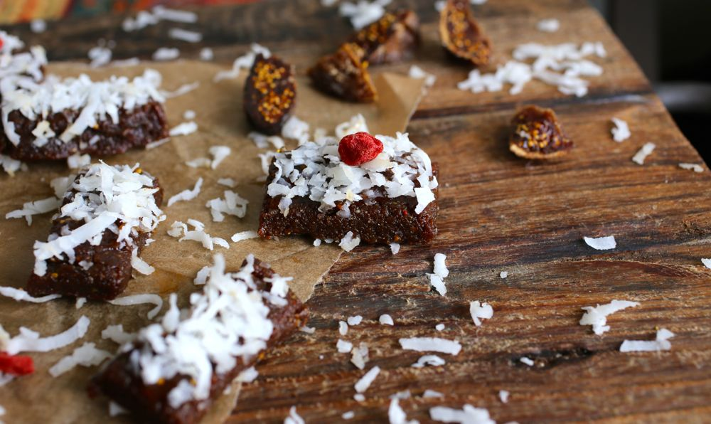 Cacao-Goji Energy Bars
