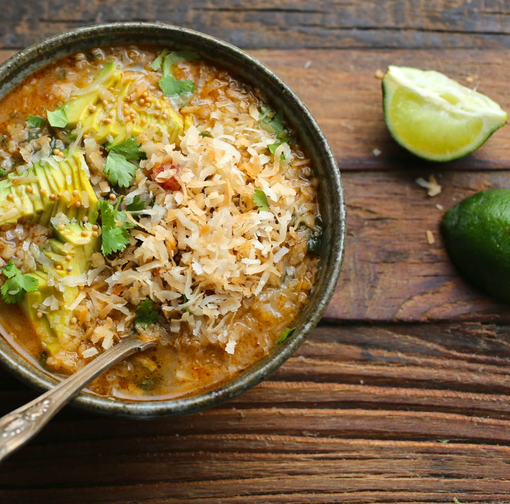 Palak Daal with Coconut