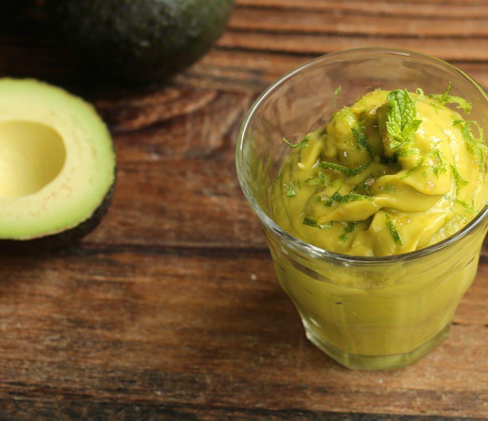Mango Avocado Mousse