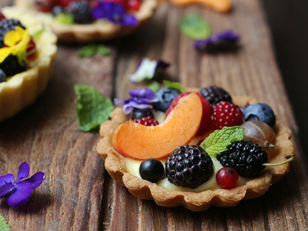 Fresh Fruit Tartlettes