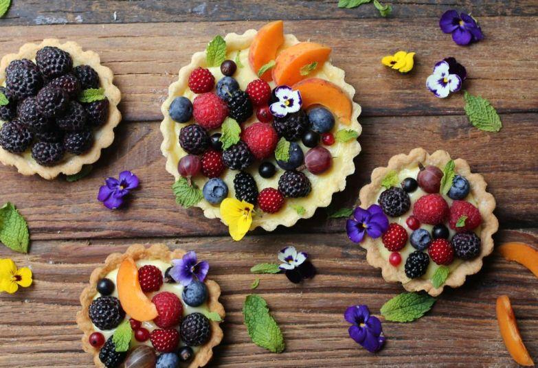 Fresh Fruit Tartlettes