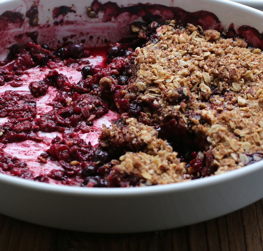 Mixed Berry and Elderflower Crisp