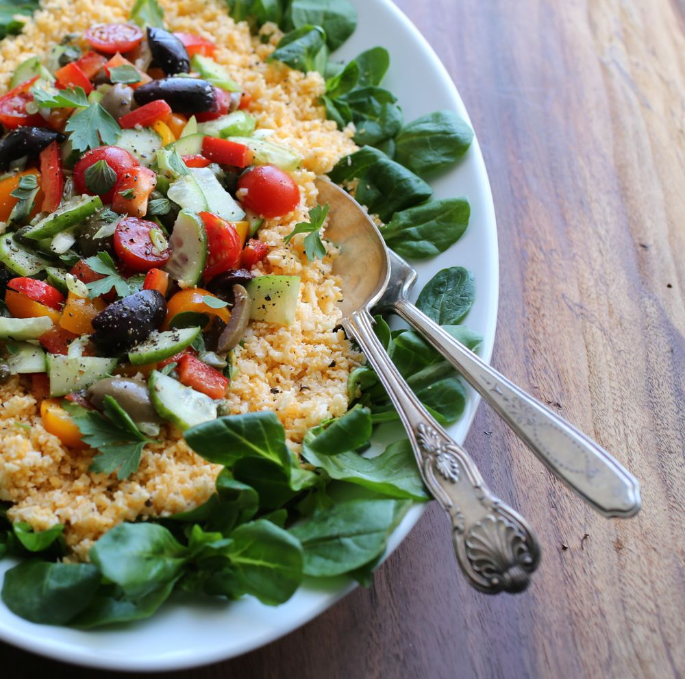 Mediterranean Cauliflower-Couscous Salad