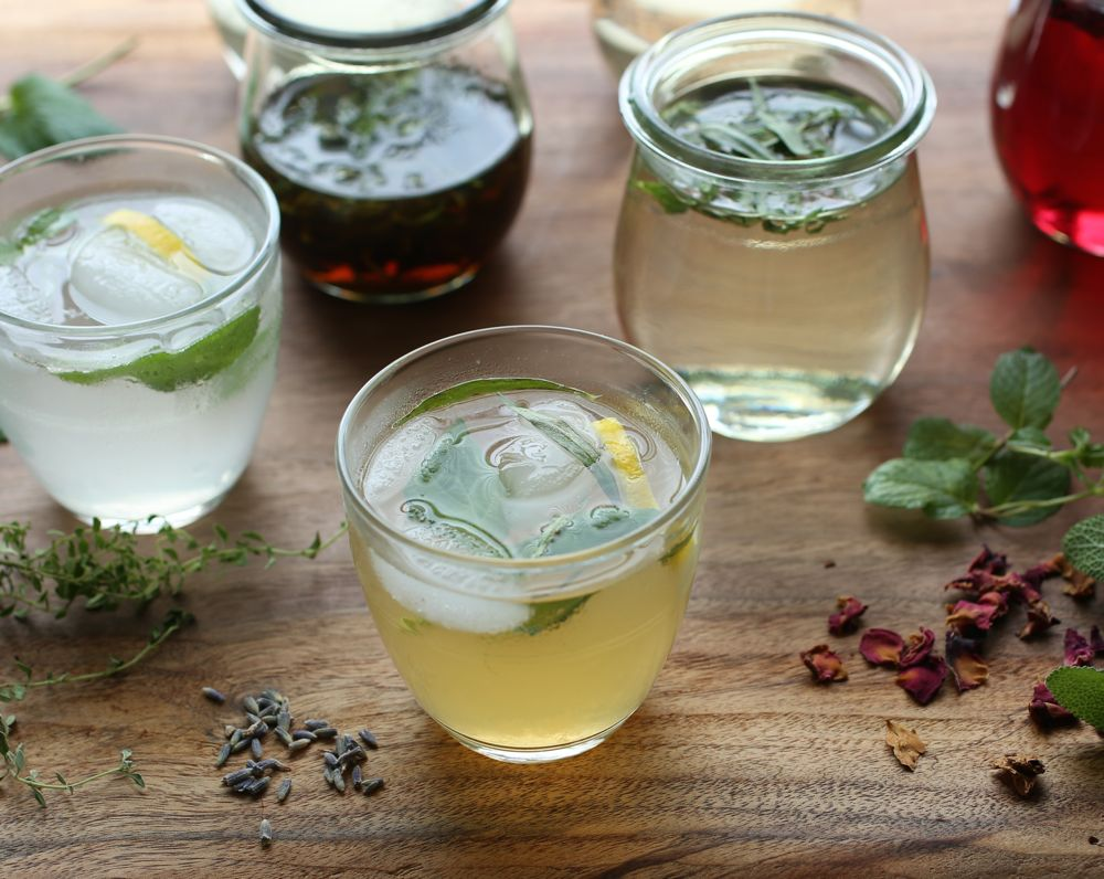 Herb-Infused Lemonades