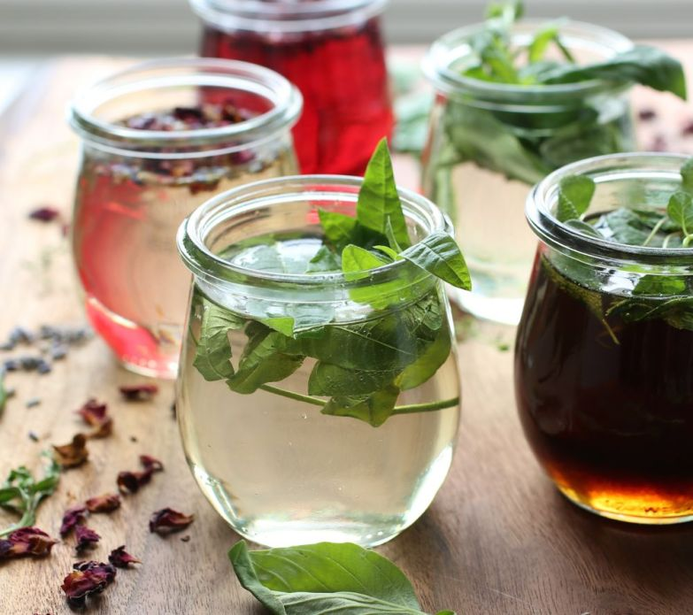 Herb Infused Lemonades