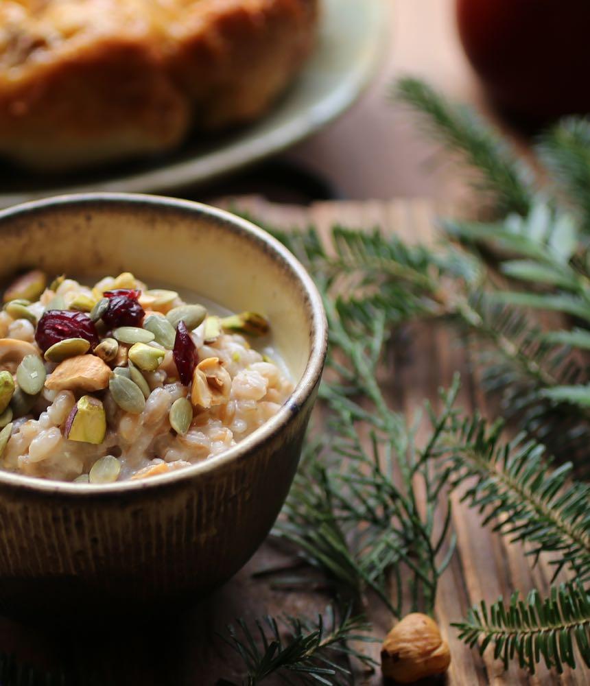 Christmas Morning Porridge