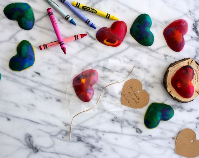 DIY: Heart Crayons