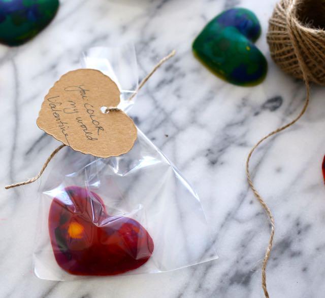 DIY: Heart Crayons