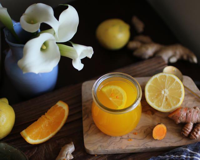 Ginger Turmeric Lemonade