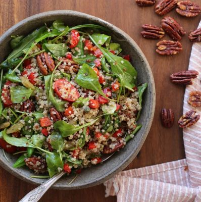 Quinoa and Arugula Salad