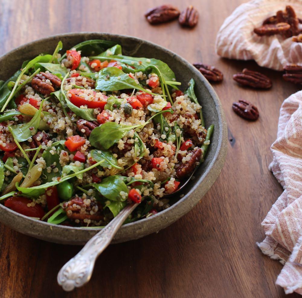 Quinoa and Arugula Salad