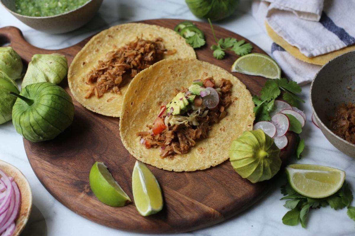 Shredded Jackfruit Tacos